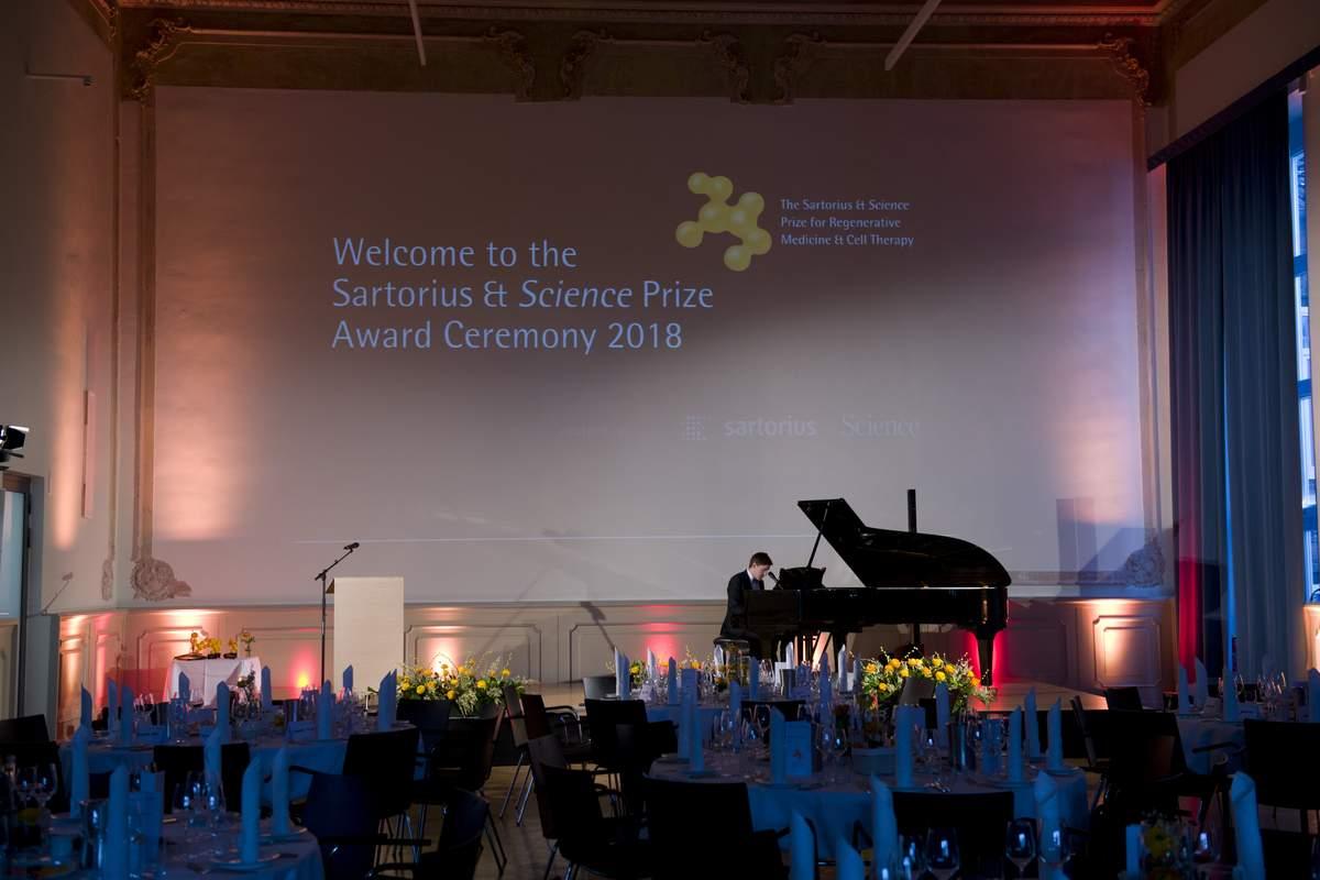 The Sartorius & Science Prize - Apply now